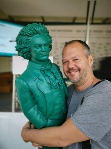 Der olle Beethoven und ich ;)
