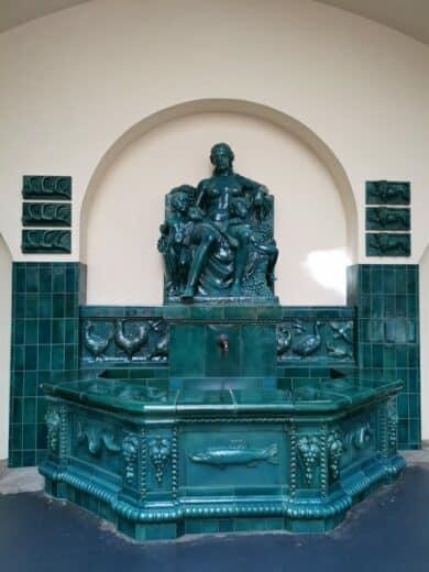 Ceresbrunnen in der Markthalle Stutgtart
