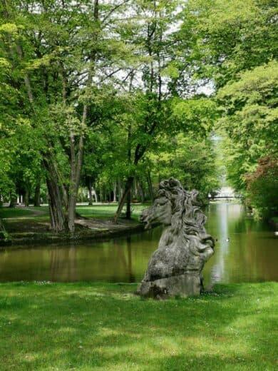 Im Hofgarten von Bayreuth