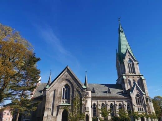 Die Domkirke (Kirche...) von Kristiansand
