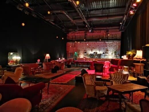 Lounge des Pantheontheaters in Bonn