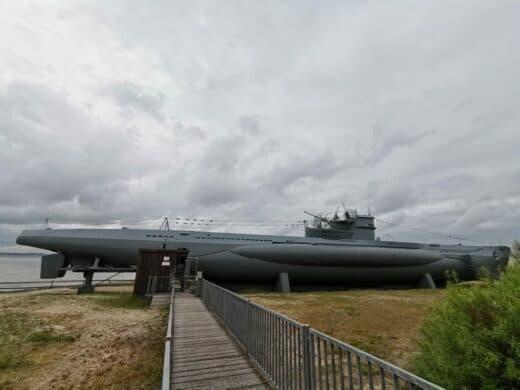 Die U-995 kann man besichtigen