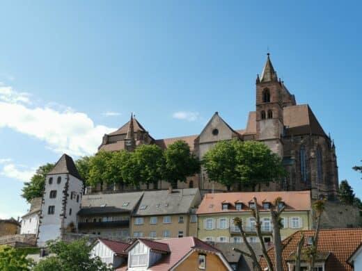 Breisacher Münster St. Stephan vom Schiff aus