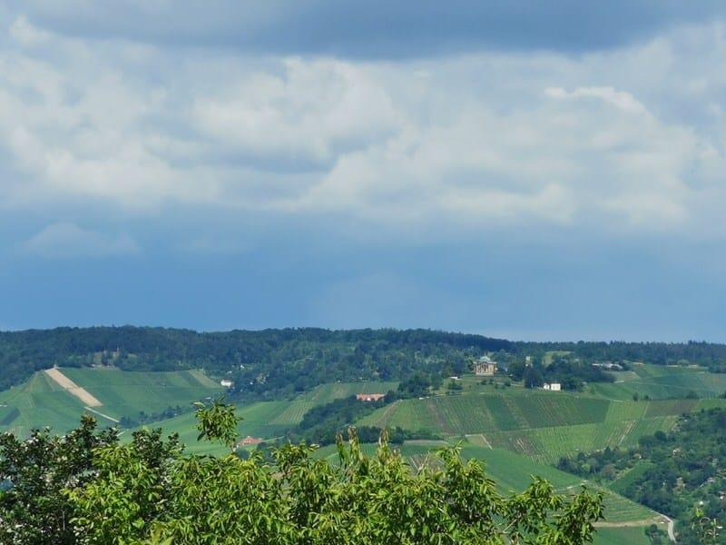 Ausblick vom Neckarblick aus