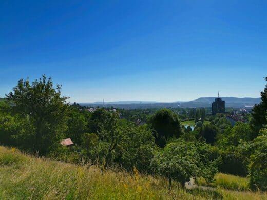 Die Aussicht vom Wartberg in Stuttgart - immer wieder ein Genuss
