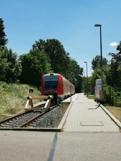 Der trostlose Endbahnhof Neustadt (Waldnaab)