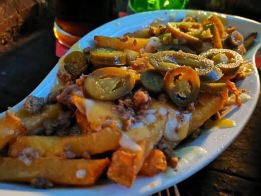 Chili Cheese Fries im O'Reilly's Stuttgart