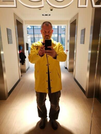 Ich und meine neue Jacke