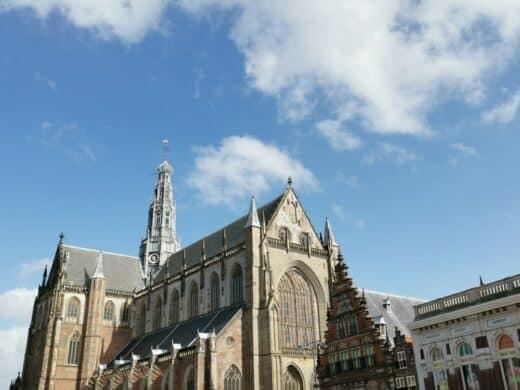 St. Bavo Kirche am Grote Markt Haarlem
