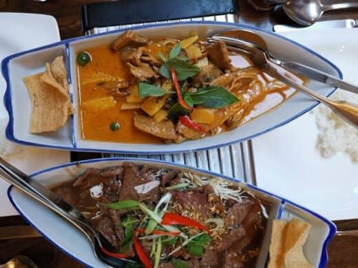 Und nochmal lecker Thai essen