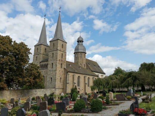 Abtei Marienmünster, ein ehemaliges Benediktinerkloster