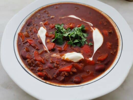 Selbst gemachtes Chili con Carne