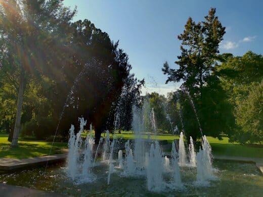 Brunnen im Mittleren Schloßgarten Stuttgart