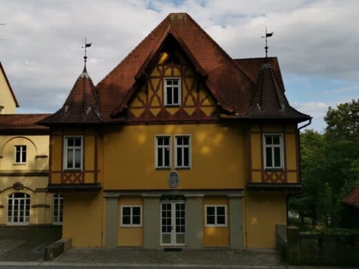 Das Palmsche Schloss in Mühlhausen