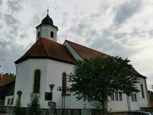 Die Wallfahrtskirche St. Barbara in Stuttgart Hofen