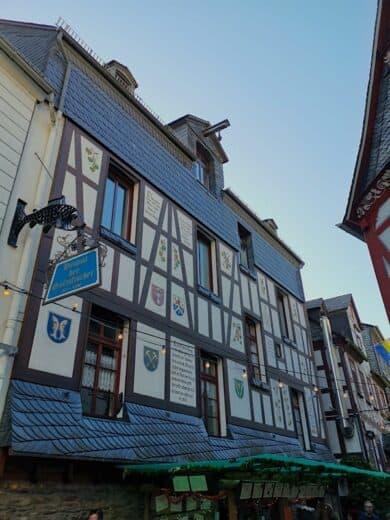 Fachwerk in der Weingass St. Goarshausen
