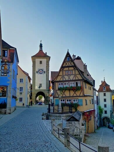 Plönlein Rothenburg!