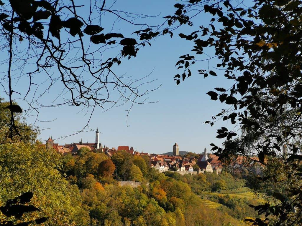 Panorama Rothenburg