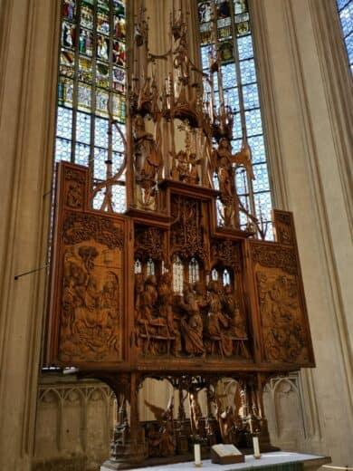 Heilig Blutaltar in der St. Jakobskirche Rothenburg