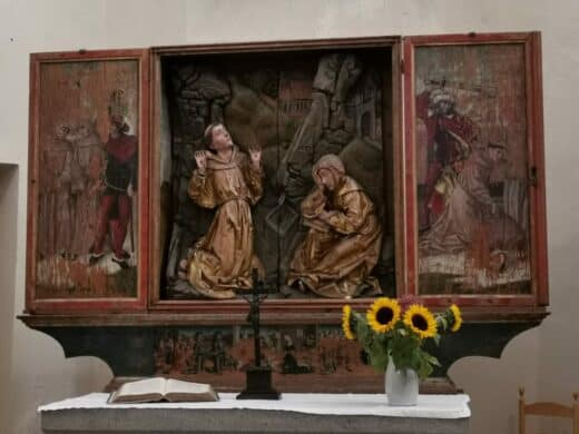 Riemenschneideraltar Franziskanerkirche Rothenburg
