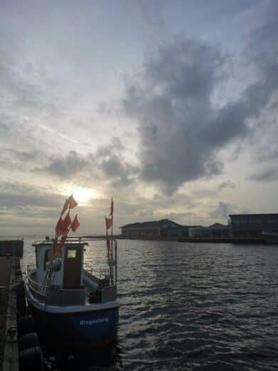 Der Hafen von Ringkøbing
