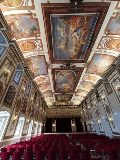 Der Haydnsaal im Schloss Esterhazy: Hier würde ich gerne mal einem Konzert lauschen