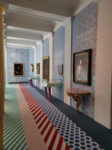 Ein kleiner Teil der Haydnausstellung im Schloß Esterhazy