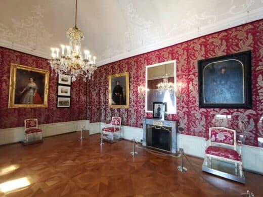 Das Sitzzimmer der Fürstin im Schloss Esterhazy