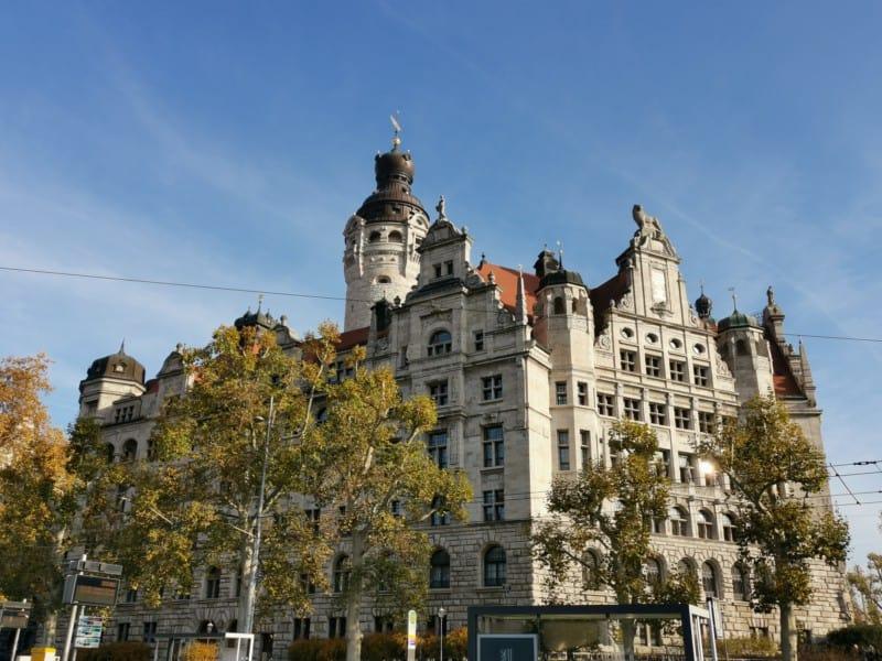 Das neue Rathaus Leipzig