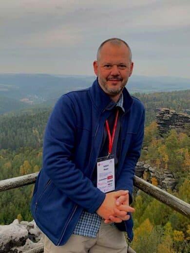 Ich auf dem Pabststein (Foto: Marco Bereth)