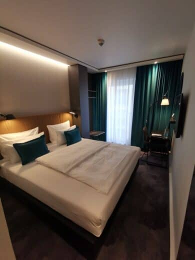 Mein Zimmer im Motel One in Köln