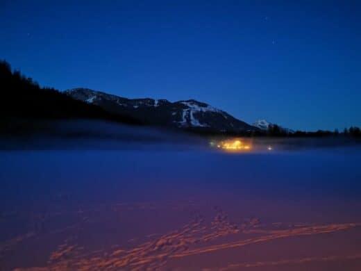 Der Ödensee - mystisch in der Nacht