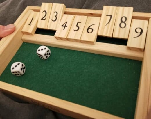Shut the box....