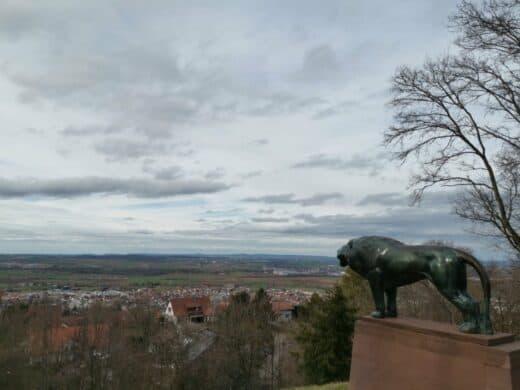 Ausblick von der Schillerhöhe