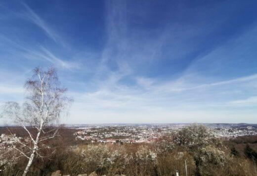 Der Ausblick auf Stuttgart vom Birkenkopf
