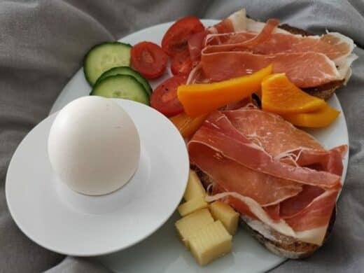 Lecker Frühstück im Bett