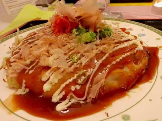 Okonomiyaki im Tokio Dining beim Stuttgarter Bloggerstammtisch