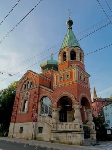 Die russische Kirche Stuttgart