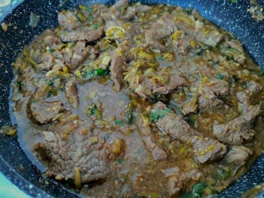 Leckere Zubereitung von Nic: Rind asiatisch mit Koriander!