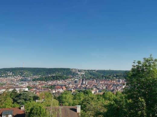 Und wieder neue Aussichten über Stuttgart