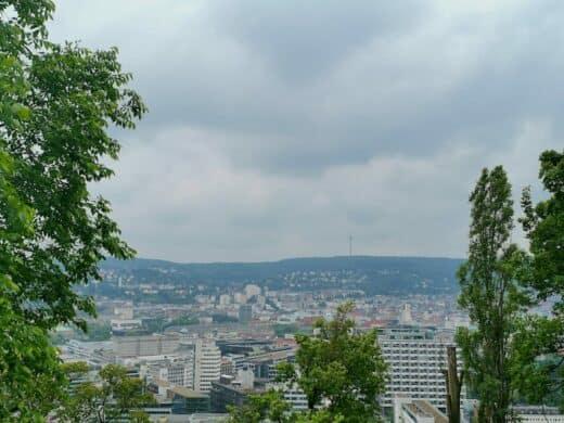 Ein weiterer Ausblick auf Stuttgart