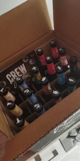 Craftbeer Tastingbox von Crew Republic