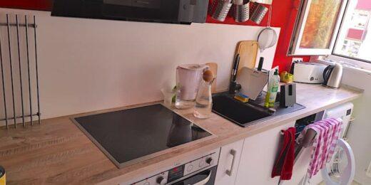 Meine Küche - Arbeitsplatte endlich mal wieder freigeräumt