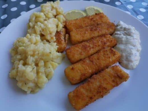 Fischstäbchen und Nics selbstgemachter Kartoffelsalat