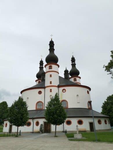 Dreifaltigkeitskirche Kappl - das Ziel unserer Wanderung