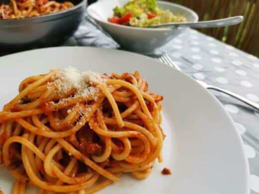 Spaghetti Bolognese bei Nic