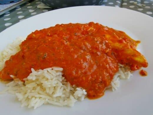 Chicken Masala nit Reis