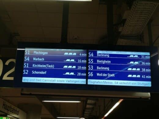 Störung einer S-Bahn auf der Stammstrecke sorgte für Chaos