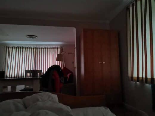 Morgens um 05:30 Uhr in der Wohnung