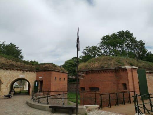 Ein Teil der Festungsanlage Tavelin 2 in Magdeburg